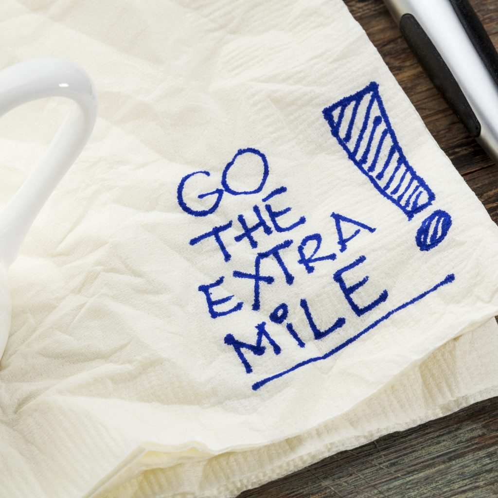 CAREER: Go the exrtra mile